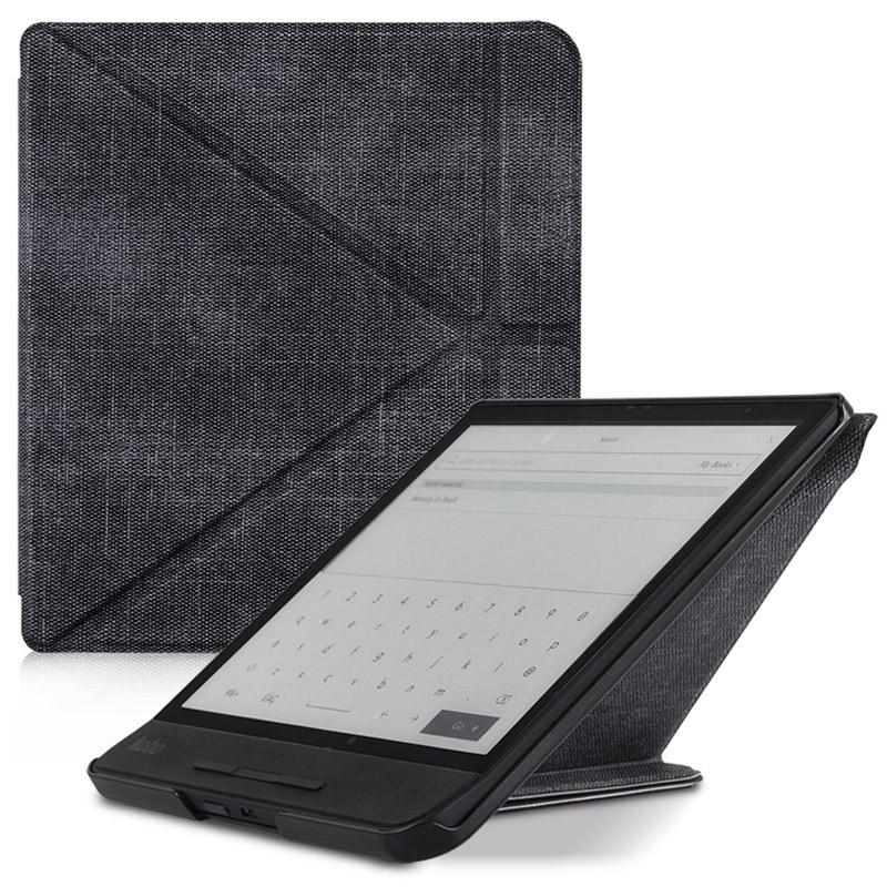 US $10 99 45% OFF|BOZHUORUI High Quality Case funda for 8 Inch Kobo Forma e  Books Multiangle folding Stand Support Cover Case With Auto Sleep/Wake-in