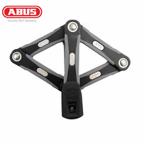 ABUS Bike Lock Anti Theft Bike Lock Steel Safe Bicycle Lock MTB Mountain Road Bicycle Steel Lock Black Bicycle Accessories Parts