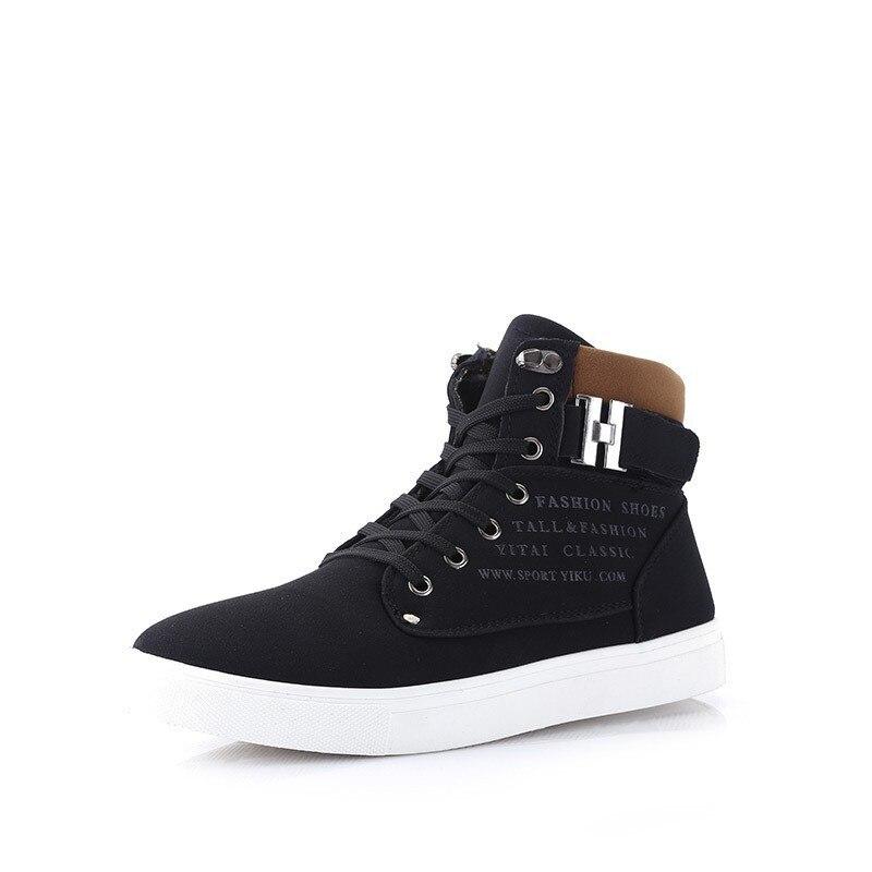 232a5922e0 Sapatas Dos Homens agradável Pop Sapatos Tenis masculino Masculino Sapato  Da Moda Para homens Casuais de Alta Top Sapatos de Lona Homens Das  Sapatilhas ...