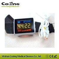 Домашнее использование новейший 650 нм лазерный акупунктурный лазер терапия устройство очистки крови, снижение высокого кровяного давления