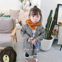 1-6 years Wholesale 2017 Babys boys girls Solid grey plaid coats (pick size )