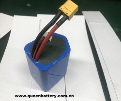 3S3P 12v 11.1V 10.8V 9Ah 9000mah 21700 30T INR21700-30T battery pack with XT90 with balancer cable