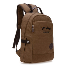 2017 New Fashion canvas Men Laptop Backpack Mochila Masculina Man s Backpacks Notebook Computer Bags Wholesale