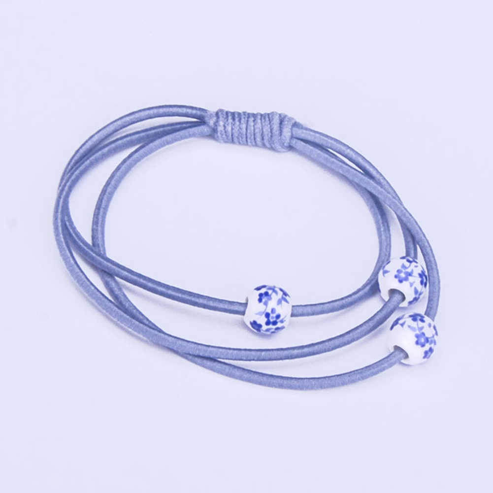 Girls Fashion Scrunchy Three-in-one Elastic Hair Bands High Quality for hair Accessories for Women Lovely Rubber Band