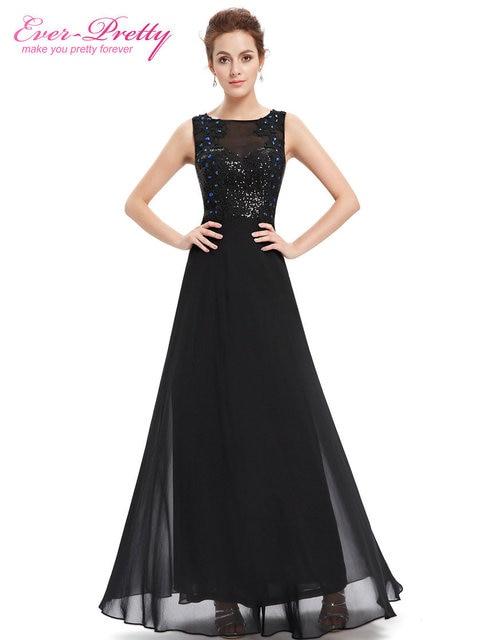 Ausverkauf] Abendkleider Frauen Elegante Oansatz Pailletten Immer ...