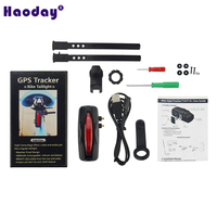 Anti theft GPS Tracker T19 for Bike Bicycle 2600mAh Rechargeable Battery IPX7 Waterproof Tracker Locator for City Bike