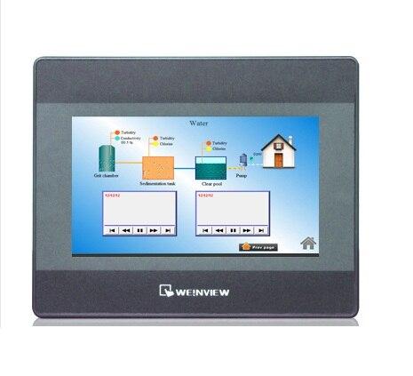 MT8071IP 7 pouces 800*480 Ethernet 1 USB hôte écran tactile HMI, WEINVIEW, ont en STOCK