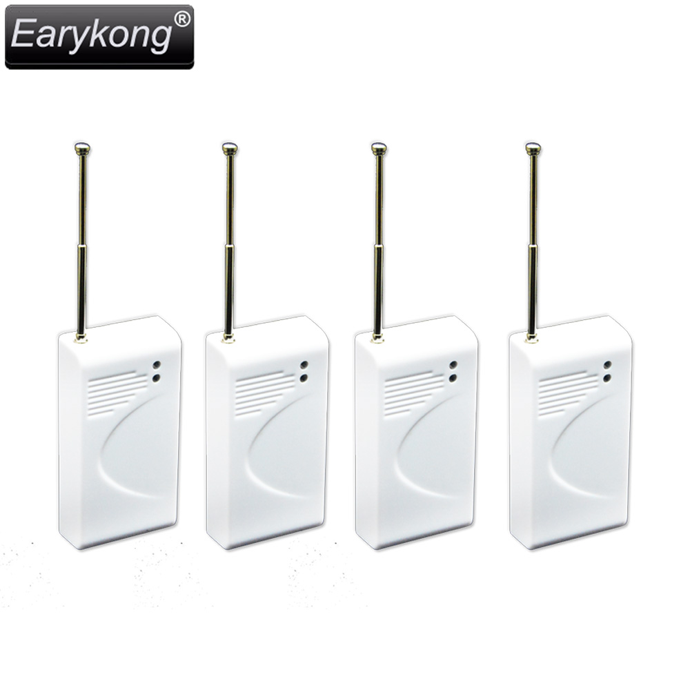 Free Shipping for Wireless shock  window door detector 433MHz for GSM Home Burglar Security Alarm System  ZD-03