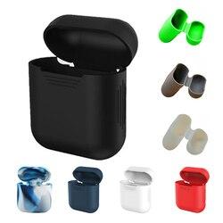 DOITOP coque en silicone souple pour Apple housse antichoc pour Apple cas d'écouteurs étui de protection Ultra mince