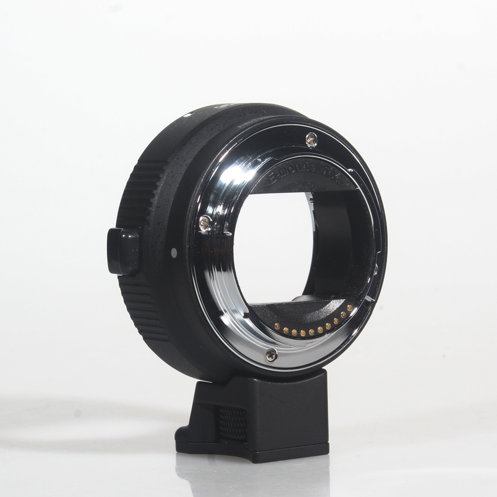 COMMLITE Camera Lens Mount Adapter Electronic Auto Focus Goldplated Pins CM EF NEX B for Canon EF Lens to Sony E Mount Camcorder in Lens Adapter from Consumer Electronics