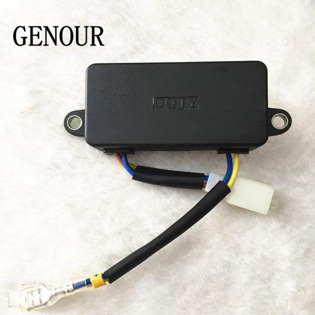 CQJY automatyczny Regulator napięcia dla Generator części zamiennych, CQJY AVR 2KW 2.5KW 2.8kw 220V Generator jednofazowy AVR wysokiej jakości