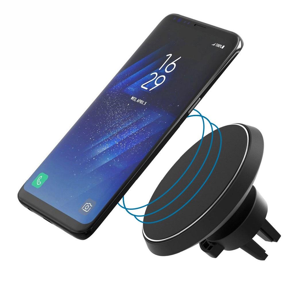 360 градуса автомобил QI безжичен - Резервни части и аксесоари за мобилни телефони - Снимка 4