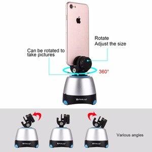 Image 2 - PULUZ Elettronico Rotazione di 360 Gradi Testa Panoramica Treppiedi con il Regolatore A Distanza di Rotazione Testa della Vaschetta Per Gli Smartphone, GoPro, DSLR