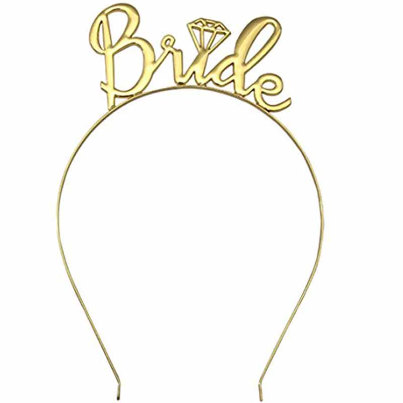 Bride To Be Tiara Crown Headband For Bachelorette Hen Party Wedding