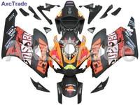 ABS Пластик инъекций Molidng мотоциклетные Кузов обтекателя Kit для Honda CBR1000RR 2004 2005 CBR 1000 CBR1000 04 05 C10431