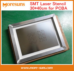 Fast Free Ship 30*40CM SMT LED laser Stencil Production Custom size Stencil Sheet for PCB Assembly PCB FPC PCBA Stencil Factory