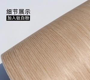 Image 2 - 2 ชิ้น/ล็อต L: 2.5 เมตรความกว้าง: 55 ซม.เทคโนโลยี Oak ไม้ 007S (กลับผ้าไม่ทอ)