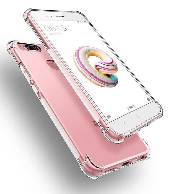 Coque para Xiaomi rojo mi A1 5X A2 6X S2 4X 4A 5 6 Plus Pro 6A nota 3 7 5 4 5A 6 Pro mi x 2 S mi jugar 8 SE Lite F1 de la cubierta del TPU del caso