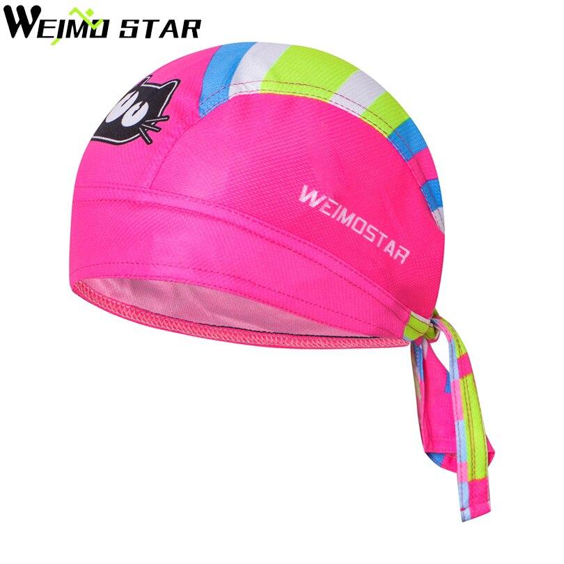 WEIMOSTAR Team Cycling Pirate Caps Perspiration Bandanas Ciclismo Headband Headwear Riding Cycling Bike Bicycle Cap Sports Heads