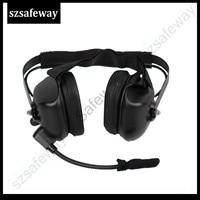 מכשיר הקשר מכשיר הקשר אוזניות oise ביטול אוזניות עבור XPR6300 DP3400 DP4801 APX7000 XPR6500 XPR6550 XPR7000 XPR7550 XiR P8200 (2)