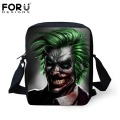 FORUDESIGNS Children School Bags Cool Joker Printing Baby Boys Girls Small Book Should Bags Kindergarten Kids Schoolbags Mochila