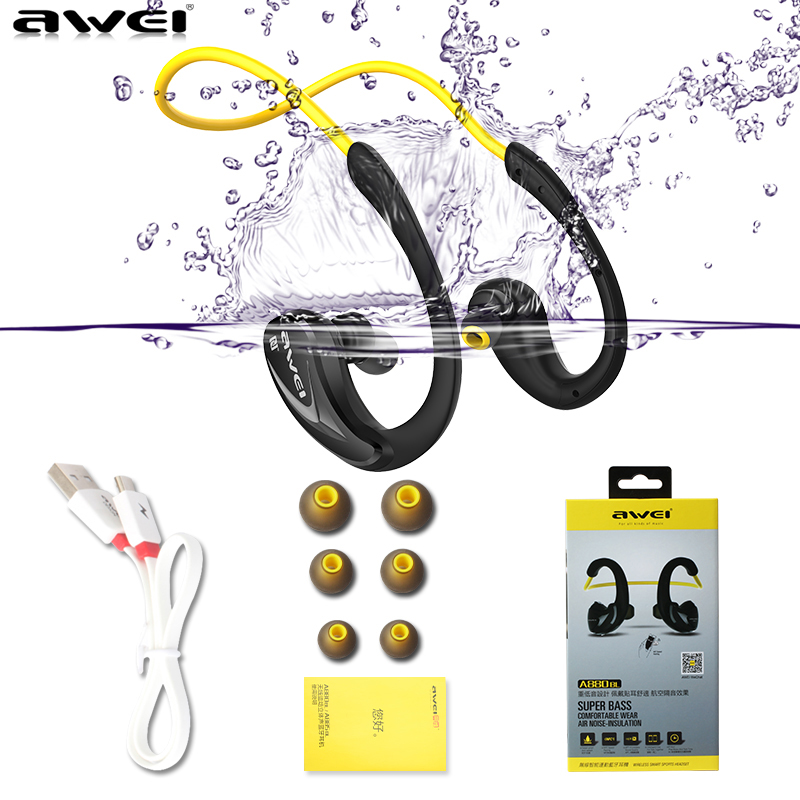 ФОТО APT-X HiFi Bluetooth Headphones Stereo Music Earphone Life Waterproof Sport Headset Sweatproof NFC Auriculares Fone De Ouvido