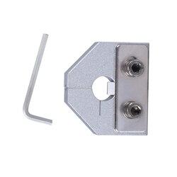 Novo Filamento Soldador Conector 1.75 MM/3.0 MM Para Impressora ABS PLA Filamento Flexível 3D Ender3 PRO Consumíveis De Soldagem bloco de alumínio