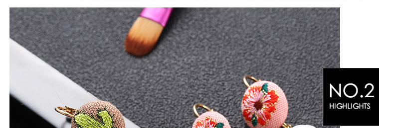 undefined  three Type Ethnic Type Embroidery Material Ball Stud Earrings Sample Design Earings For Ladies Couple Present 2018 New Jewellery Oorbellen HTB1enFHFeGSBuNjSspbq6AiipXap