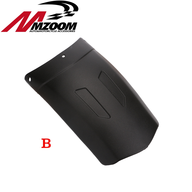 Universal Motorcycle Front Rear Fender Extension Extender ...