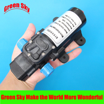 5.5l/min 80w dc pressure switch type with on/off button and socket 12v automatic diaphragm water pump new arrival automatic pressure switch type with handle and cooling fan 8l min 100w dc 12v micro diaphragm pump