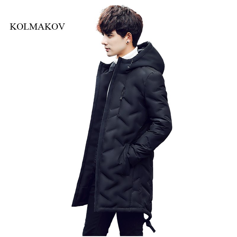 2017 new arrival winter style men long boutique down coat high quality fashion 90% white duck mens black hooded down coat M-3XL