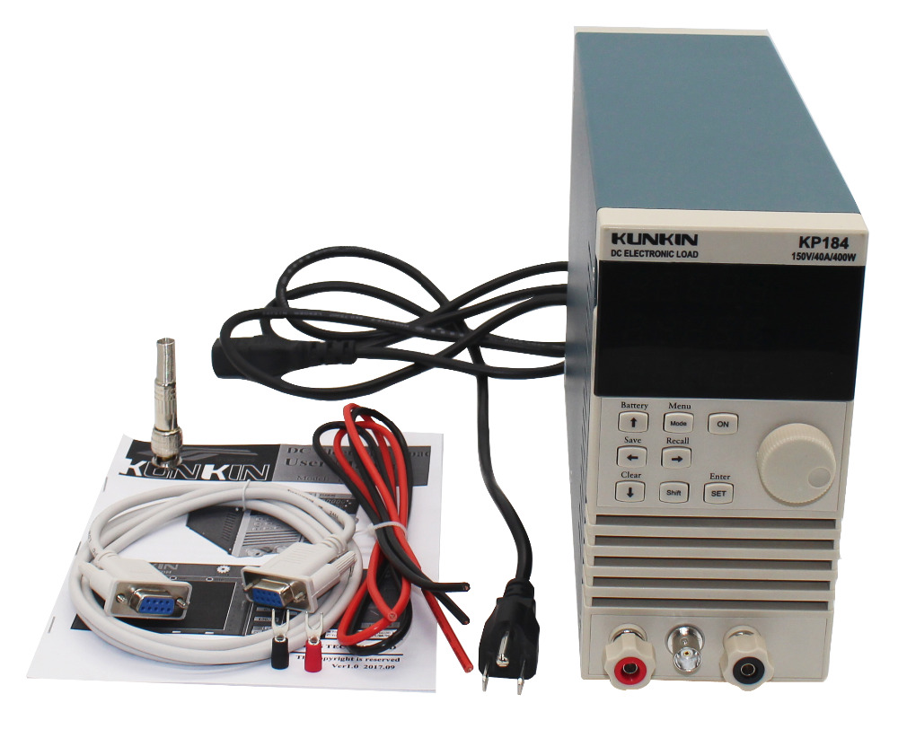 KP184 DC font b Electronic b font Load Battery capacity tester Internal resistance tester Power tester