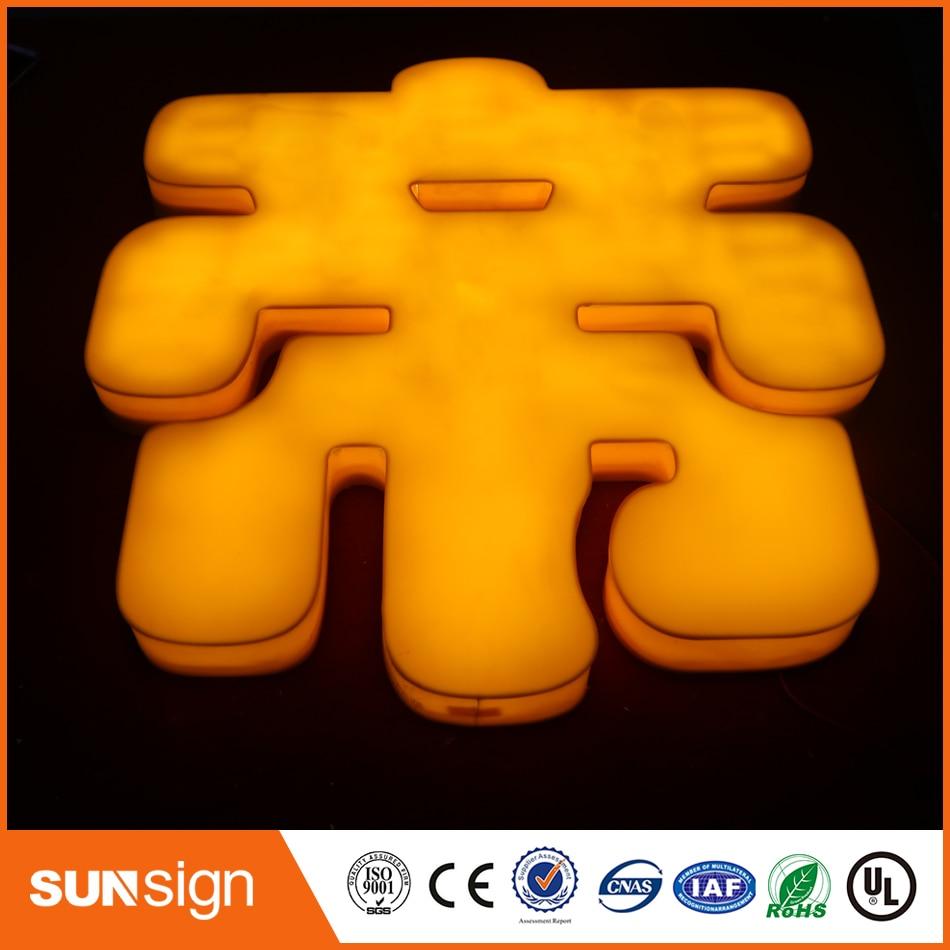 Hot Selling 3D Backlit Lighting Acrylic Mini LED Channel Letter Sign