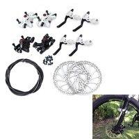 Phanh xe đạp Hose Hot Bu Lông Moutain Bike Disc Brake Set Cycling Kit Calipers Đòn Bẩy Cánh Quạt G3 160 mét Phụ Kiện Xe Đạp