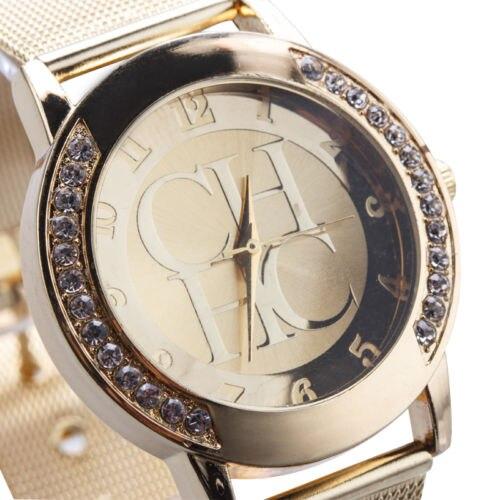 2019 New Branded Watches Men Luxury Geneva Diamond Men's Watch Stainless Steel Dial Watchband Quartz Analog Watch