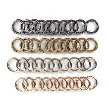 10 шт./лот высокое качество кольца крюк сумка аксессуары кольца крюк 4 цвета