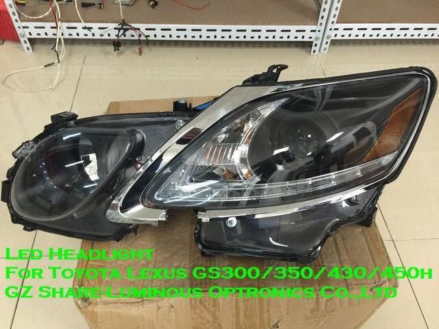 high quality e4 emark led headlight assembly for toyota lexus gs300 rh aliexpress com Lexus GS430 Headlights Halo Headlights Assembly for Lexus GS430