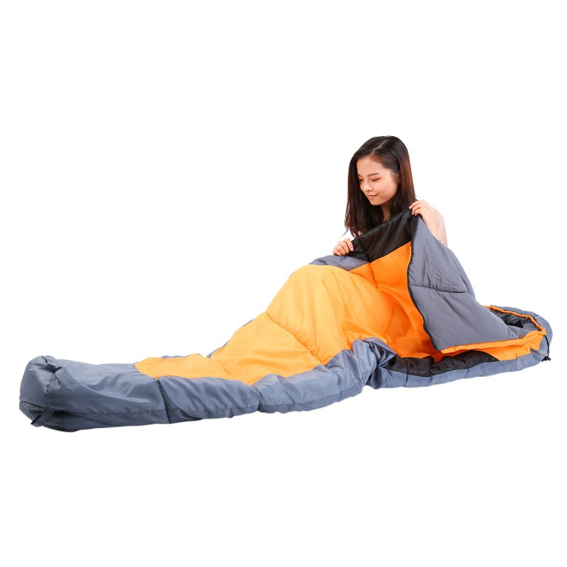 Outdoor Portable Soft Camping Hiking Warm Adults Mummy Sleeping Bag 5F/-15C With Carrying Case Ship From USA