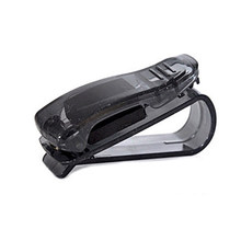 Car Glasses Clip Car Glasses Box Holder Multi-function Sun Visor Bill Business Card Card Holder Jewelry(China)