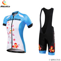 Malciklo High Quality Pro Fabric Red Cycling Jersey 2018 Summer Bicycle MTB Jersey Ropa Ciclismo Roupa Bike Wear Clothing