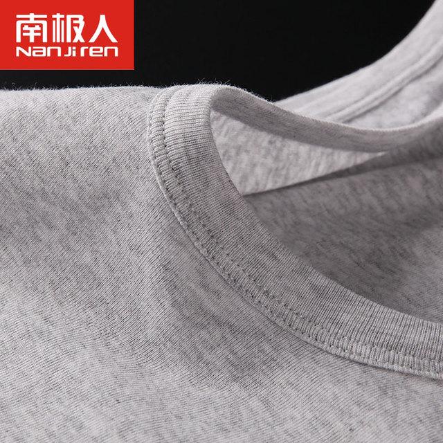 3pcs/lot Men's Undershirt Bottoming Shirt Solid Color Cotton Men Casual Top Shirt Slim Male Underwear Tank Vest