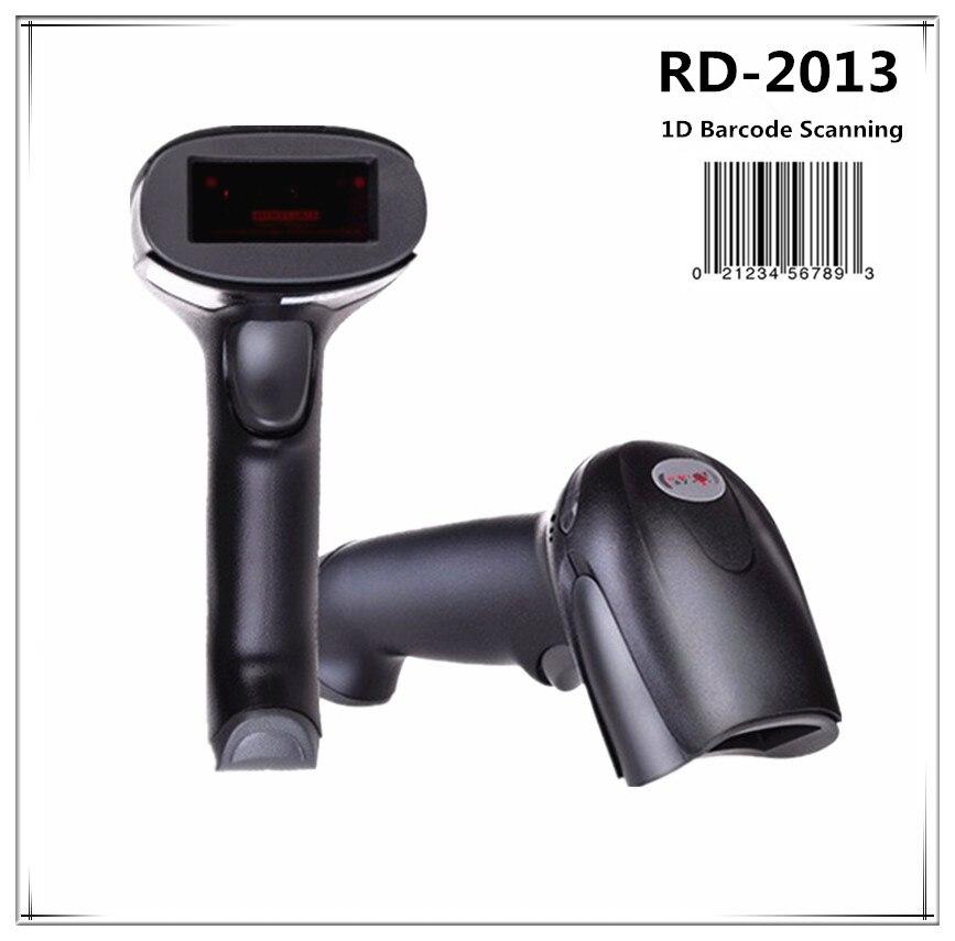 USB 1D tragbaren Barcode-scanner Handheld Laser-strichcodeleser für POS System Supermarkt