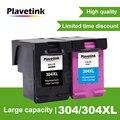 Чернильный картридж Plavetink для HP 304, 304xl, совместимый с HP Deskjet 3720, 3721, 3723, 3724, 3730, 3732, 3752, 3755, 3758