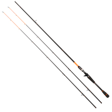 Tsurinoya 2.4M Casting Fishing Rod  Carbon Materials with M/ML 2 Tips Hard Power 2 sections Joy Together C802 Fishing Rod