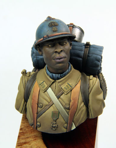1/12 Tirailleur Algerien WW1 bust toy Resin Model Miniature Kit unassembly Unpainted image