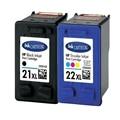 1 Full Set HP 21 22 Ink Cartridges HP21 22 For HP Deskjet 3915 3920 D1530 D1320 D1311 D1455 F2100 F2280 F4100 F4180