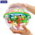 Juguetes Educativos preescolares Original 3D Puzzle Bola Bola de Juguetes Rompecabezas de Laberinto Laberinto Intelecto Juego Etapas Cumpleaños Del Niño Del Juguete