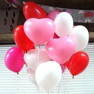 """100pcs 12"""" inch Heart air balloon Wedding decoration wedding supplies and favors Kids birthday party decoration"""