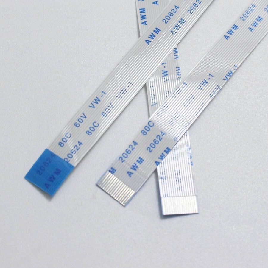 9pin 50mm AWM 20624 80C Ribbon Cable laptop Flex Kabel 0.5mm  9 pin 5cm A 2Pcs