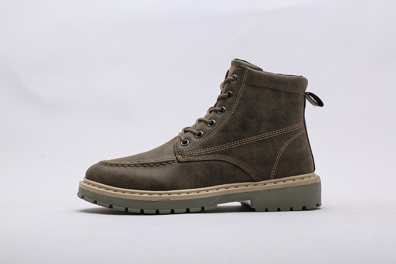 Quality Dr Genuine Leather shoes men Boots Martin boots Motorcycle shoes Autumn Winter shoes Lover snow